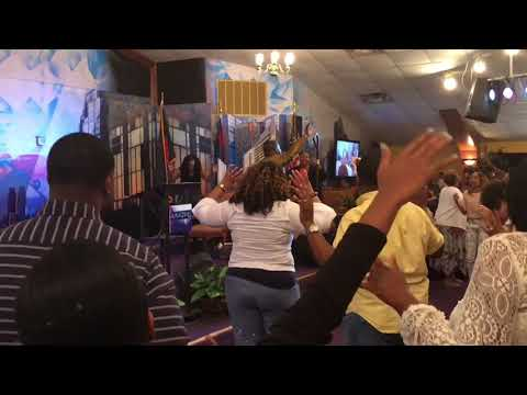 Mother's Day Praise Break at The Harvest Tabernacle Church!!! 5/13/18