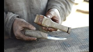 Making puukko knife for sloyd and bushcraft