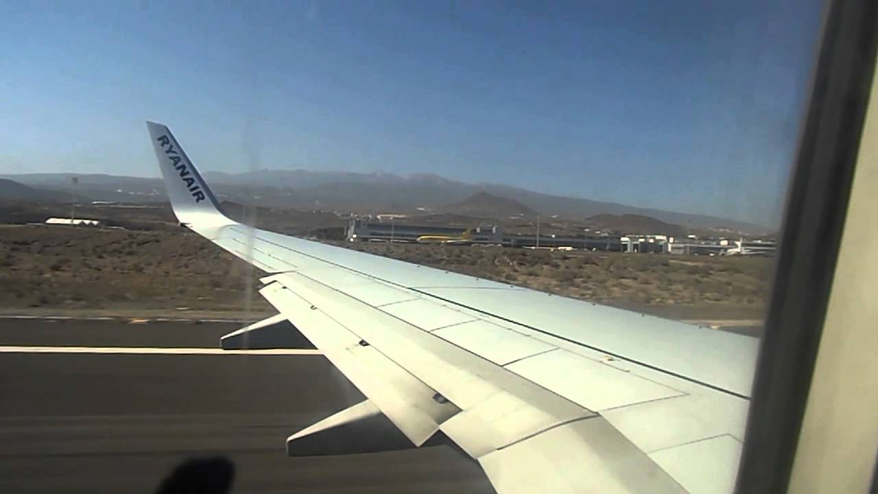 ryanair flights to tenerife south from stansted