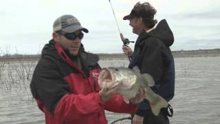 Falcon Lake Fishing with Collegiate Angler Scott Jones and Wade Middleton