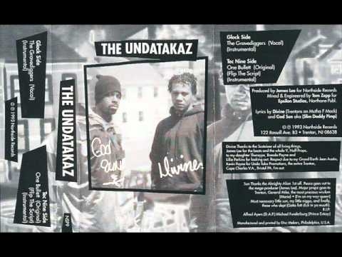 THE UNDATAKAZ - GRAVEDIGGERS ( rare 1993 NJ rap )