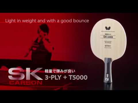 Butterfly Presents the SK7 Classic & SK Carbon Blades
