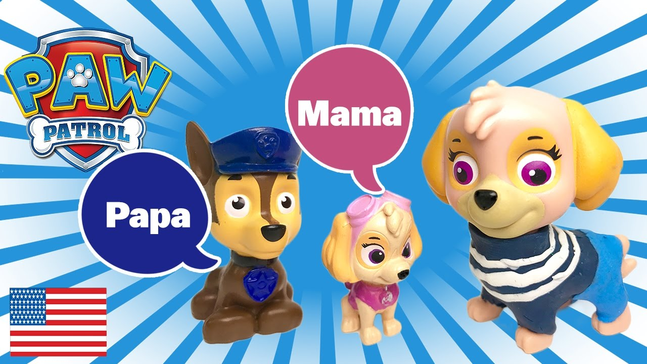 top paw patrol chase and skye have a baby  wallpaper iphone