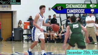 Cambridge vs Shenandoah [Basketball Highlight] 12/29/2018