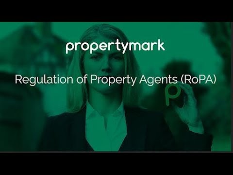 Regulation of Property Agents - Propertymark