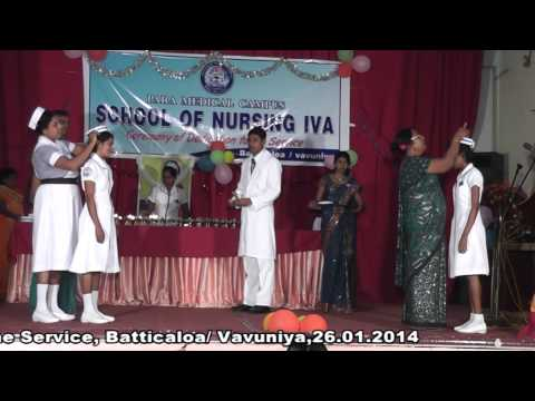 Sri Lanka School of nursing iva - Capping Ceremony (Batticaloa) 2014 cilp 2