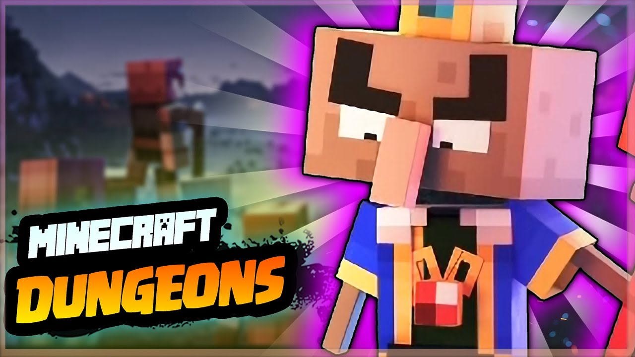 Minecraft Dungeons Origin Story | Story of Next Gen Minecraft heroes ! |Origin Stories #6