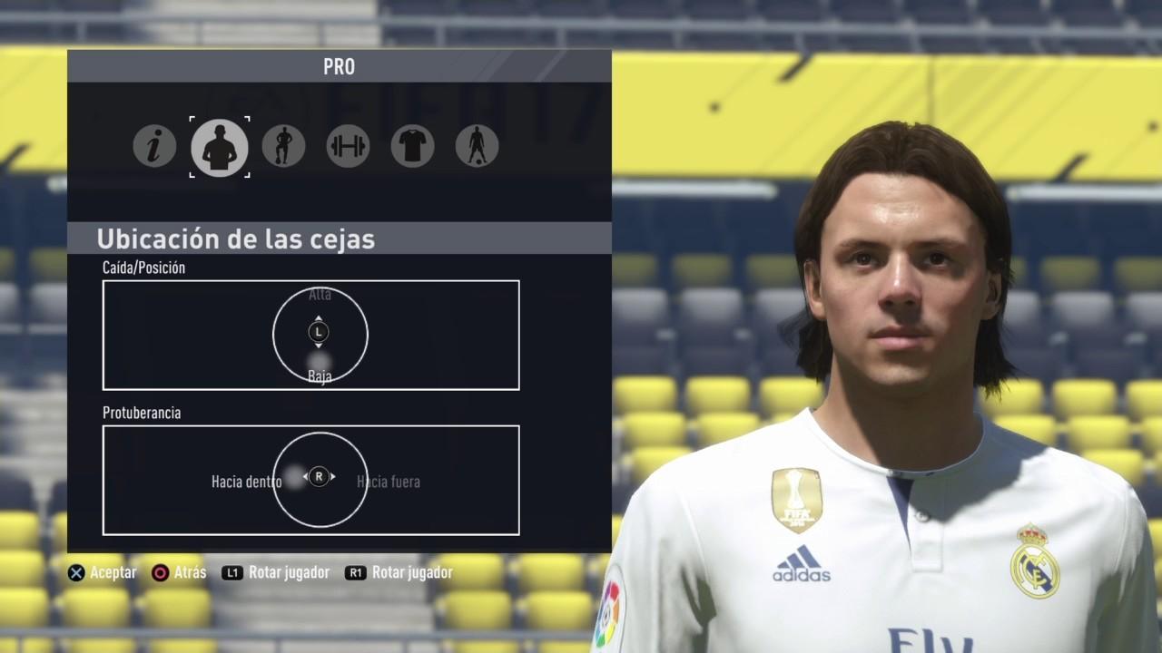 Fernando Redondo FIFA 17 Look a like Apariencias Virtual