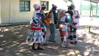 Nama song and dance, southern namibia , africa