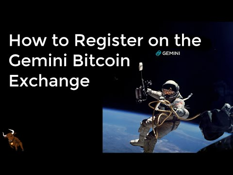How to Register on the Gemini Bitcoin Exchange