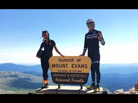 Cycling North America's Highest Paved Road | Mt. Evans