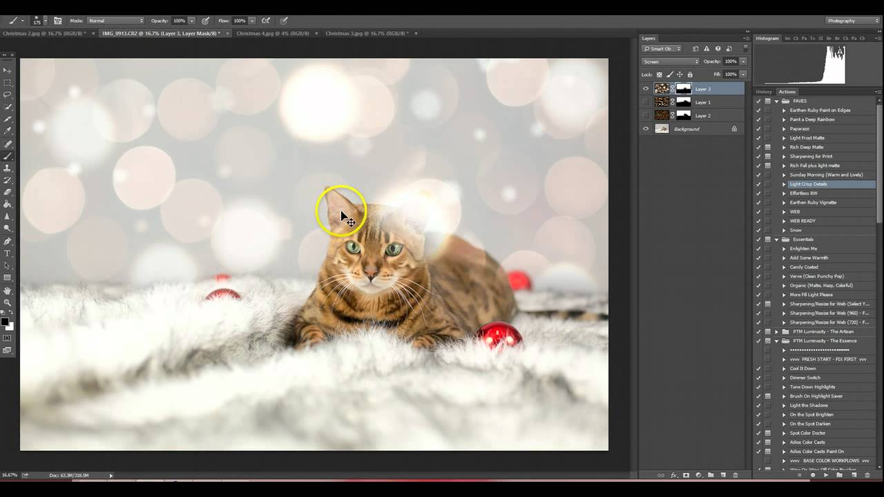 How to Apply an Overlay in Photoshop CC *CLP Design* - YouTube