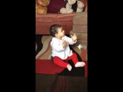 9 months old baby dancing!