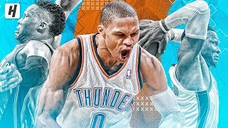 Russell Westbrook BEST & MOST VICIOUS Dunks of His Career! A MUST SEE MONTAGE! Video