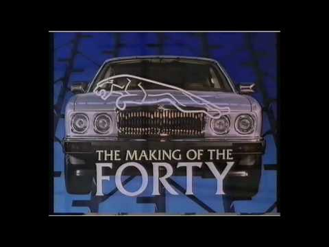 making the forty - full story of the Jaguar XJ40