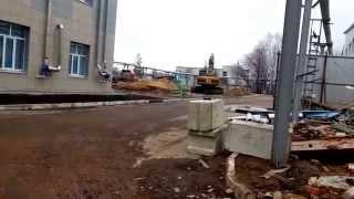 КЭТЗ, Демонтаж зданий и вывоз строительного мусора. Разработка котлована.(Казанский электротехнический завод, Демонтаж зданий и вывоз строительного мусора. Разработка котлована., 2015-09-18T06:48:12.000Z)