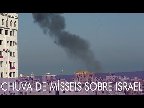 INTENSIFICAM-SE OS ATAQUES SOBRE ISRAEL
