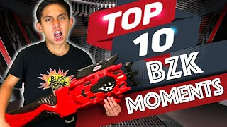 Top 10 Moments on Blast Zone Kid | Beyblade Burst Turbo / GT / Rise