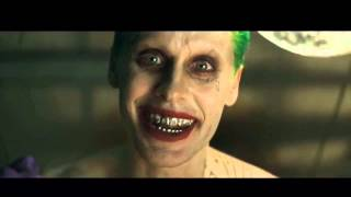 Jared Leto's Joker Laugh - Suicide Squad Trailer