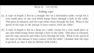Falling rope problem of Harvard University based on variable mass concept (part. b is more difficult