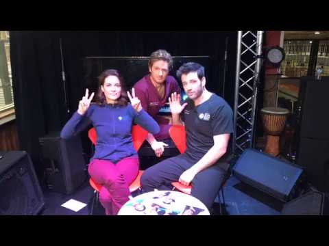Colin Donnell, Torrey DeVitto, and Nick Gehlfuss  LIVE from One Chicago Day!