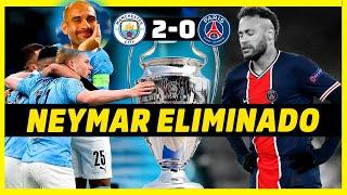 PSG LE DICE ADIOS A OTRA CHAMPIONS - ANÁLISIS MANCHESTER CITY VS PSG (2-0)