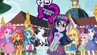 My little pony ♥ equestria girl ♥ en español, parte 1, juegos para niñas