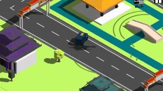 Smashy Road: Wanted Funny Moments 1: Amazing Stunts and Stupis Fails