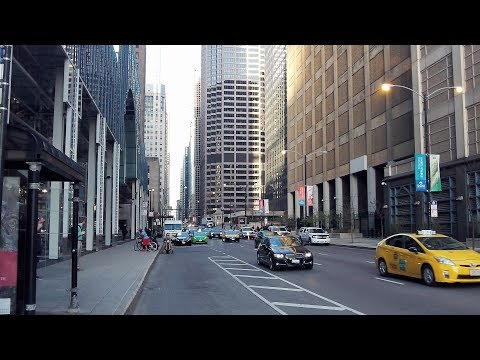 Madison Street In Downtown Chicago (April 30, 2018)