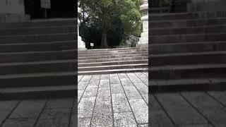 ケンカの場所の神社.