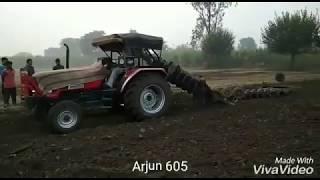 Arjun 605 vs Sonalika 750 vs MF 9500 @ Gohana