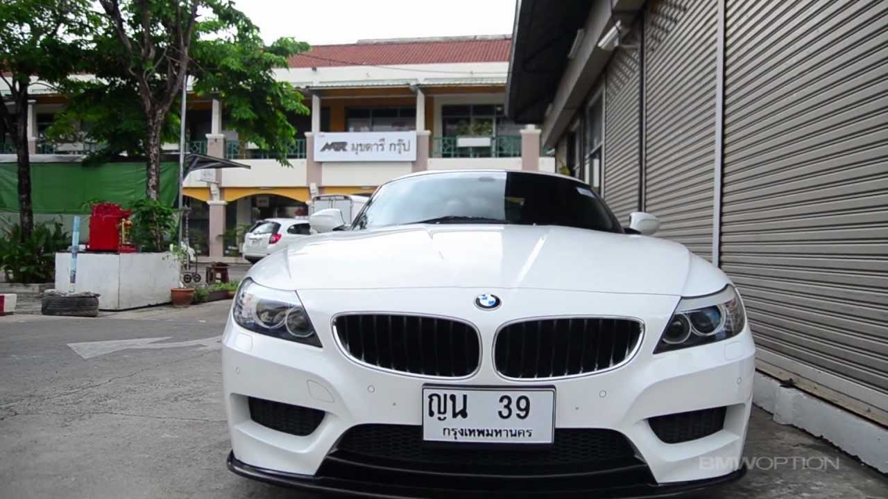 Bmwoption Z4 E89 3d M Sport Youtube
