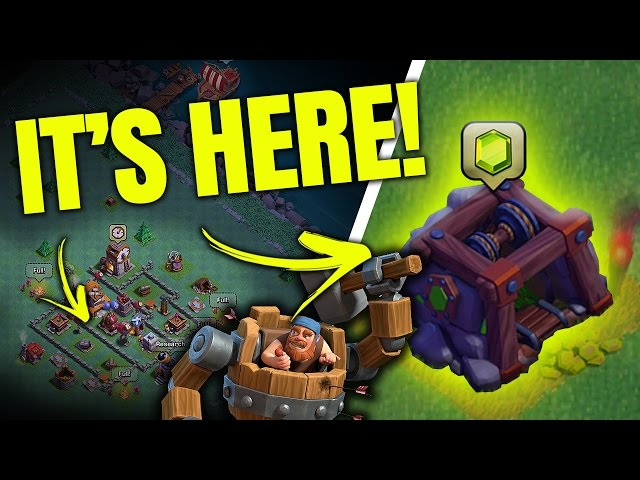 NEW: GEM MINE, NIGHT MODE! CLASH OF CLANS UPDATE IS HERE!
