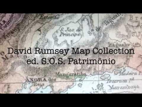 S.O.S. Patrimônio. David Rumsey Historical Map Collection