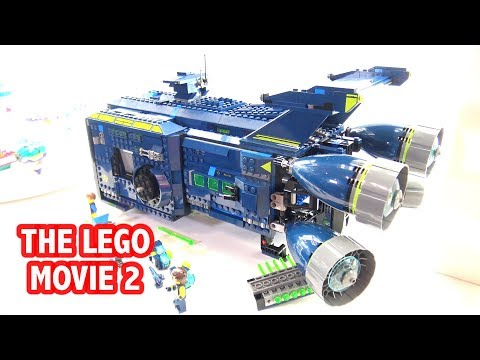 First Look at LEGO The Rexcelsior & Queen Watevra's Space Palace | New York Toy Fair 2019