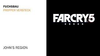 Far Cry 5 - Fuchsbau Prepper Versteck Fundort - Johns Region