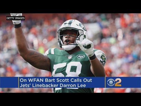 WFAN's Bart Scott Says Jets' Darron Lee Lacks Toughness