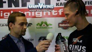 Patrik Pietilä Post Fight FNF 10 Interview