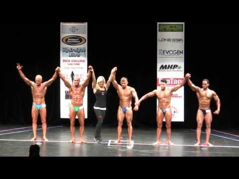 2013 NPC Atlantic States Championship. Men's Bodybuilding Novice Middle Weight Class Award Ceremony