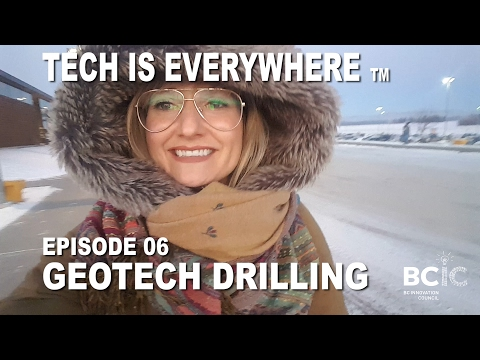 Tech Is Everywhere Episode 06: Geotech Driling