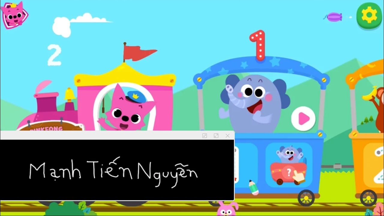 Pinkfong 123 Numbers Đoạn giới thiệu - Mạnh Tiến Nguyễn Trò chơi