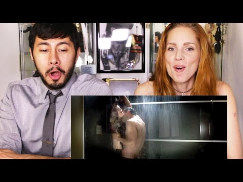 FIFTY SHADES DARKER Trailer Reaction | Jaby Koay & Bre Mueck
