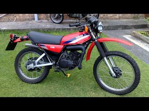 moto dt 175 yamaha