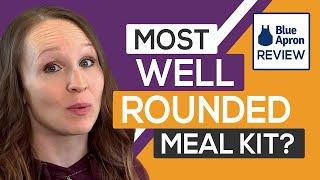 👩🍳 Blue Apron Review Unboxing Recipes \u0026 Meals Taste Test