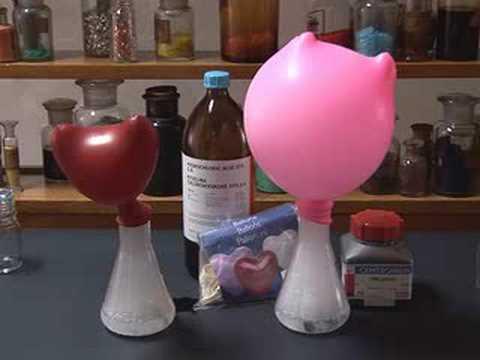 Hydrochloric acid and zinc