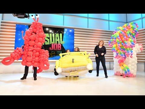 #MyUnusualJob: Balloon Artist!
