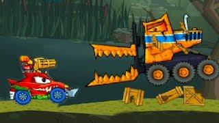 Хищные машины Машина ест машину 3 Car Eats Car #43 игровой мультик - битва тачек как Drive Ahead #МК