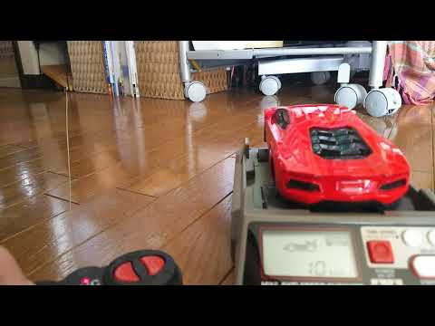 【10km/h】DAISO 600円 ラジコンカー スピード計測!