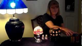 Oil Warmer Demonstration - Ceramic Heart & Seashell Lamp(Watch as I demonstrate 2 new beautiful oil warmers. Links: (Ceramic Heart) http://aromadelightsonline.com/Pedestal-Heart-Oil-Warmer-ped-heart.htm Seashell ..., 2013-07-23T15:55:19.000Z)