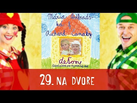 Na dvore - SPIEVANKOVO | CD - DEŤOM 1